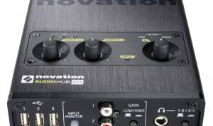 Novation Audiohub 2x4 - Audio-Interface und USB-Hub