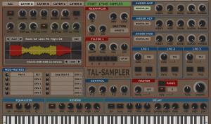 TAL-Sampler - Klangerzeuger von Togu Audio Line