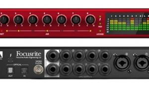 Focusrite Clarett 8Pre - 18x20 Thunderbolt-Audiointerface