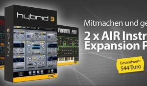 2x Air Music Instrument Expansion Pack zu gewinnen