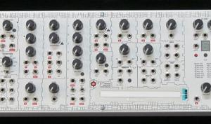 Soundmachines Modulör114 analoger Modular-Synthesizer