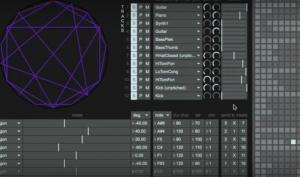 Rhythmus- und Beat-Maschine für mikrotonale Musik