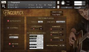 Realitone Fingerpick: akustische Gitarre für Kontakt