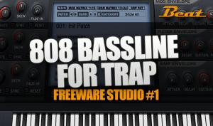 Video-Tutorial: 808 Bassline für Trap Musik mit Freeware