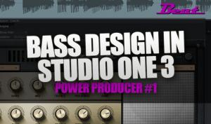 Video-Tutorial: Bass Design mit Studio One 3