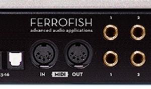 Musikmesse 2017: Ferrofish stellt neue Profi-Wandler vor