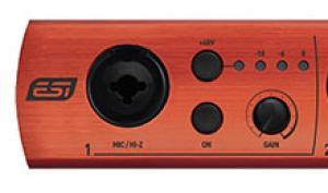 ESI U168 XT & U86 XT: Professionelle Audio-Interfaces vorgestellt