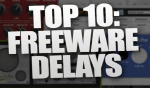 Top 10: Die besten kostenlosen Delay Plugins für Win & Mac