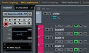 Steinberg Nuendo 8: Das Schlachtschiff für die Audio-Bearbeitung ist raus!