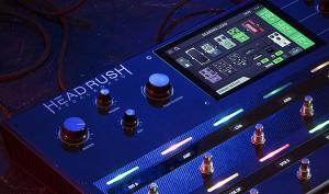 HeadRush Pedalboard: innovativer Verstärker und FX-Tool jetzt erhältlich