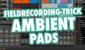 Tutorial: Field-Recording-Trick für Ambient Pads