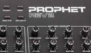 Dave Smith Prophet Rev2 Desktop im Anmarsch