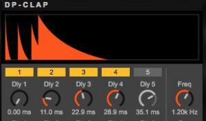 DENPA DP-Clap: Roland TR-808/909 Clap-Synthesizer