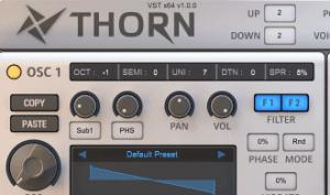 Thorn von Dmitry Sches: der neue Spektral-Synthesizer