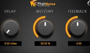 Kostenlos und simpel: PhatNoise Delay Plug-in für Windows