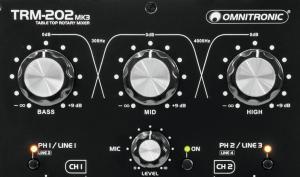 Omnitronic TRM-202MK3 im Test: so überzeugend ist dieser Rotary-DJ-Mixer