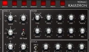 "Yonac Software Kauldron: kräftiger ""Analog""-Synth für iOS"