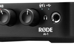 Røde AI 1 - das erste Audio-Interface des Herstellers