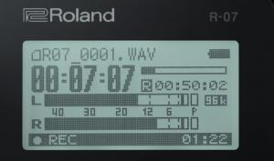 Roland R-07: mobiler Audio-Rekorder mit Bluetooth und mehr