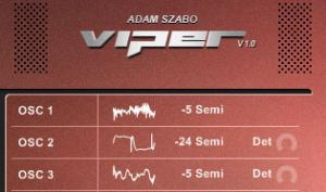 Adam Szabo Viper: der Software-Klon des Virus TI Synthesizers