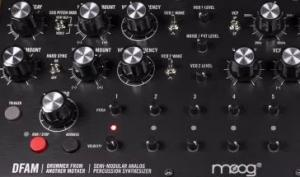 NAMM 2018: Moog bringt Drum/Percussion-Synthesizer DFAM auf den Markt