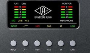 NAMM 2018: Universal Audio Arrow - kleines Audio-Interface mit UAD-Plug-ins