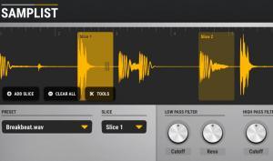 Alex Buga Samplist: Sampler-Instrument für das iPad