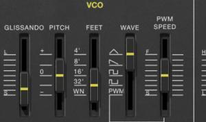 Yamaha CS-01 geklont: Ekssperimental Sounds ES-01 für Reason