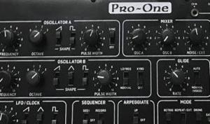 Pro-One von Behringer gesichtet