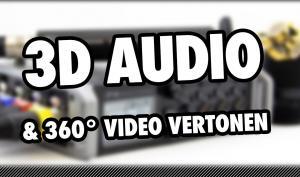 Video-Tutorial: 3D-Audioaufnahmen und 360 Grad Videos vertonen