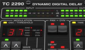 TC Electronic TC2290-DT: 80er Delay-Plug-in mit Controller