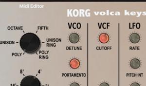 Praktisch: Momo stellt VST-Controller für Korg Volca Keys vor