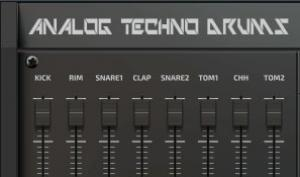 Beatmaker Analog Techno Drums: Futter für Produzenten harter Beats