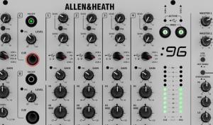 Hammer: Allen & Heath stellt Xone:96 DJ-Mixer vor