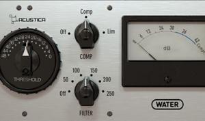 Acustica Audio WATER: Kanalzug, Kompressor und EQ mit Vintage-Flair