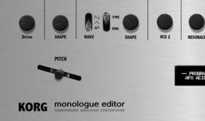 Momo Müller stellt VST-Controller für Korg Monologue vor
