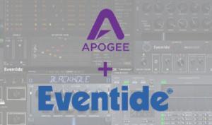 Promo Kooperation zwischen Apogee und Eventide