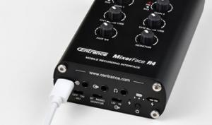 Centrance MixerFace R4: mobiles Recording-Interface für viele Anwendungen
