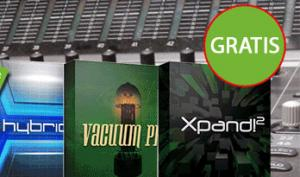 GRATIS: AIR Music Synth Paket – Hybrid 3, Vacuum Pro und Xpand!2 die Workstation