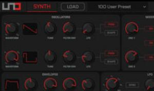 IK Multimedia UNO Synth Editor: Hardware-Synth via Editor programmieren