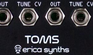 Erica Synths Toms & Snare Module im Kurztest