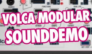 Video: Korg Volca Modular - Sounddemo des Mini-Synthesizers nach Buchla-Art