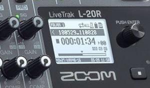 Zoom enthüllt den neuen L-20R: Digitalmixer im Rackformat