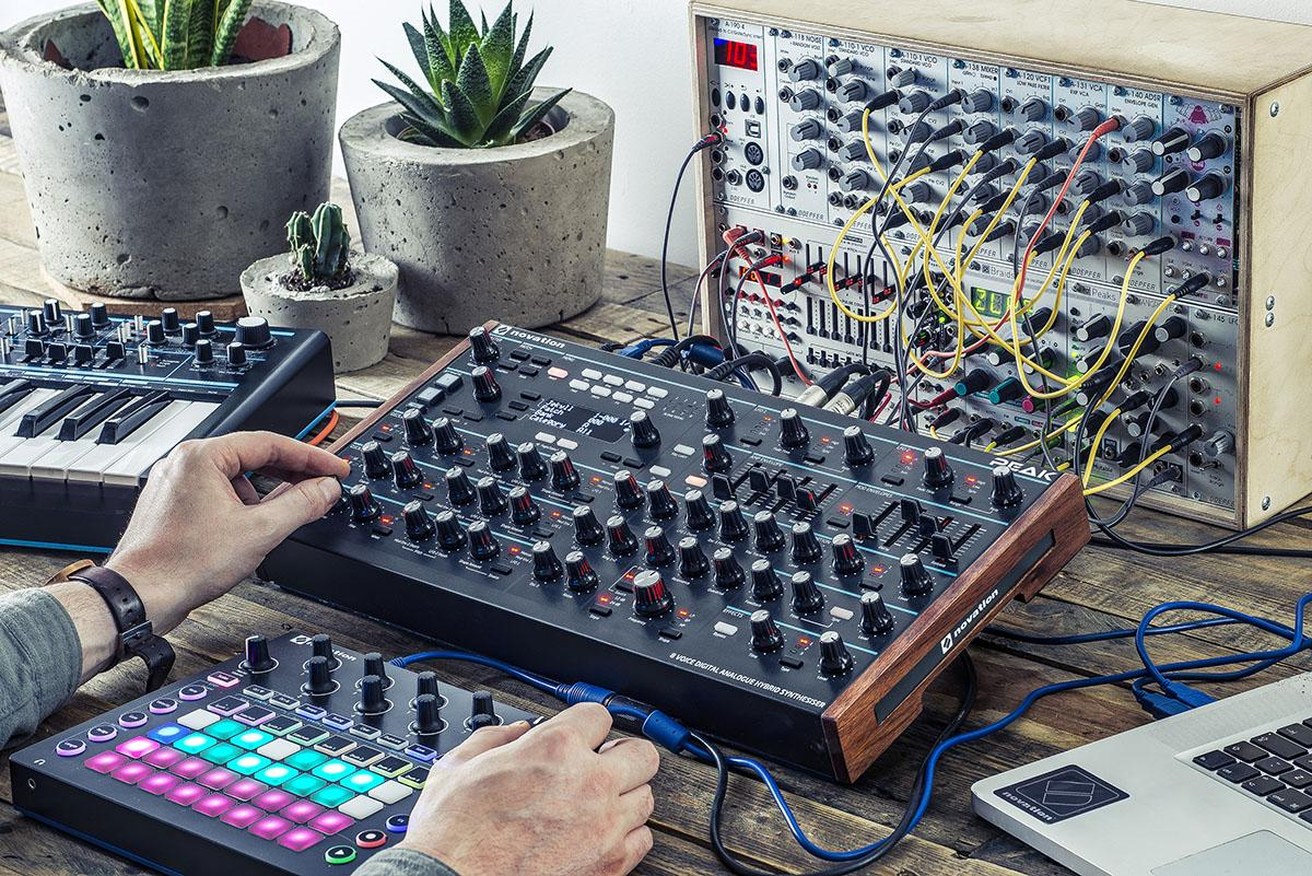 Novation Peak - Behind the Scenes (Interview with the