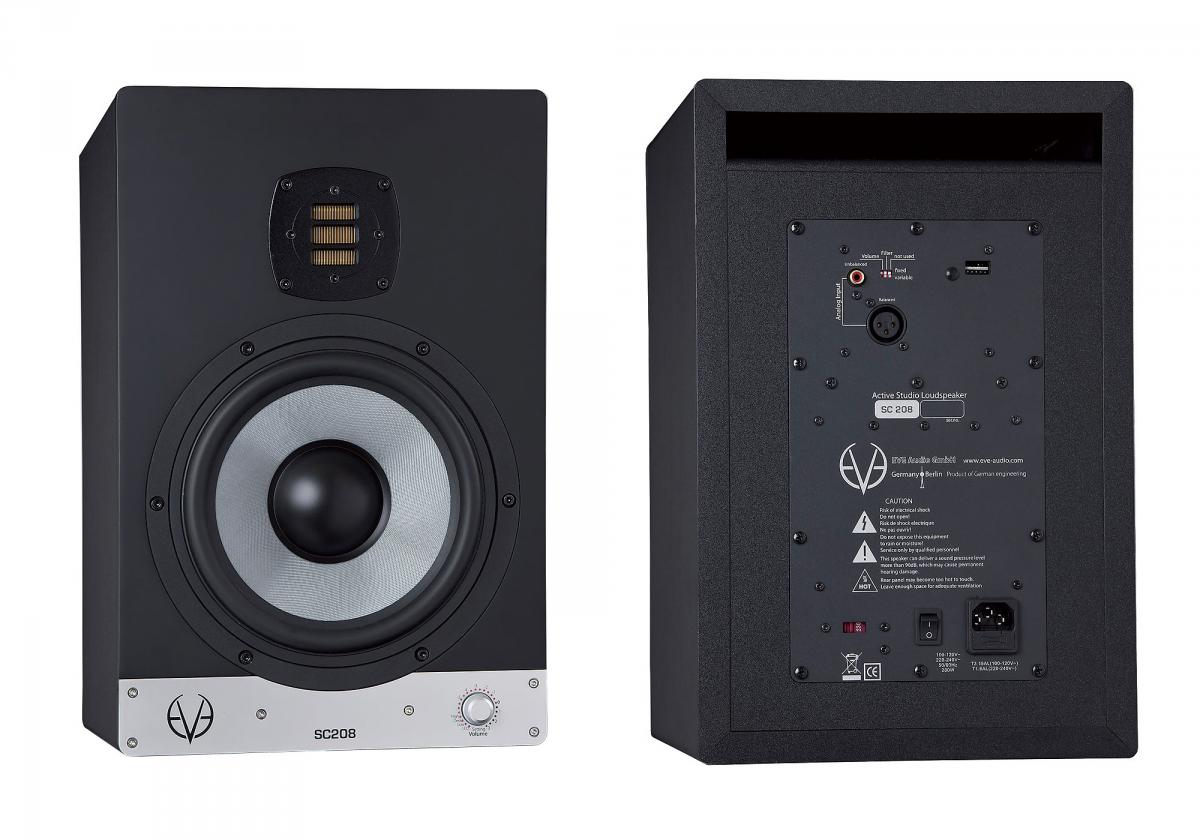 Eve Audio SC208: So gut klingt der Zwei-Wege-Studiomonitor wirklich ...