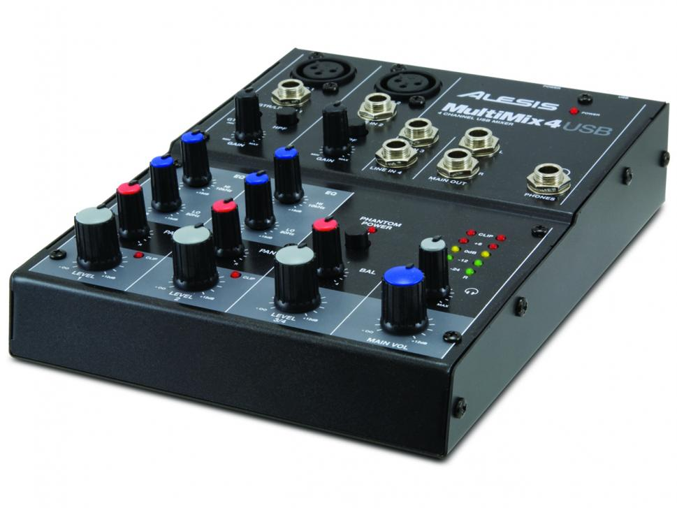 Test: Alesis Multimix 4 USB
