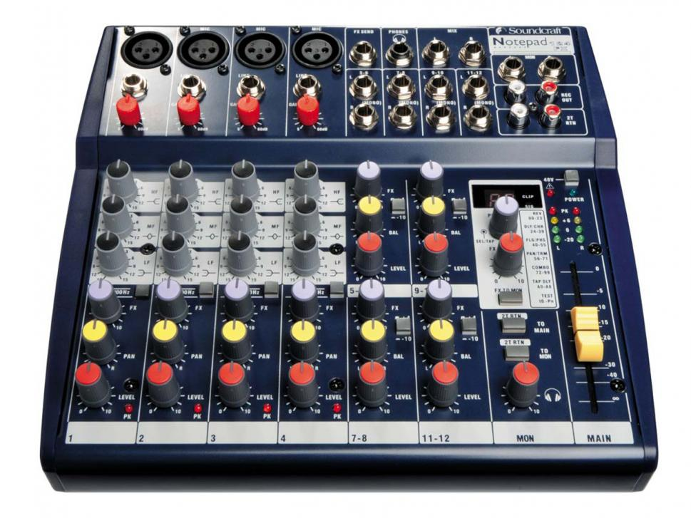 Test: Soundcraft Notepad 124FX