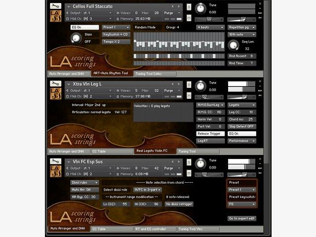 Test: Audiobro LA Scoring Strings