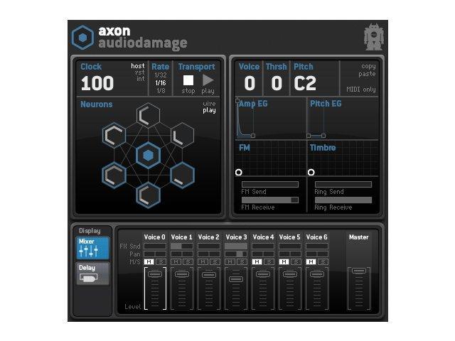 Test: Audio Damage Axon