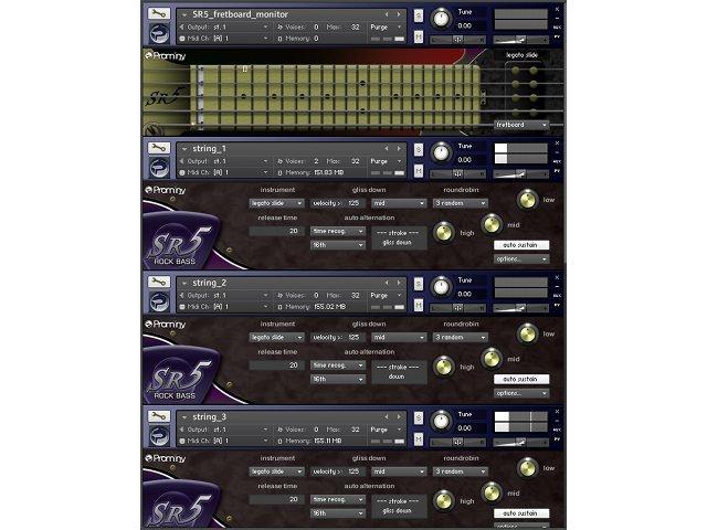 Test: Prominy SR5 Rock Bass